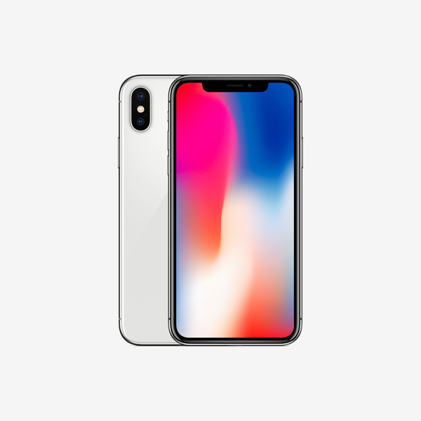 iPhone X with complete box
